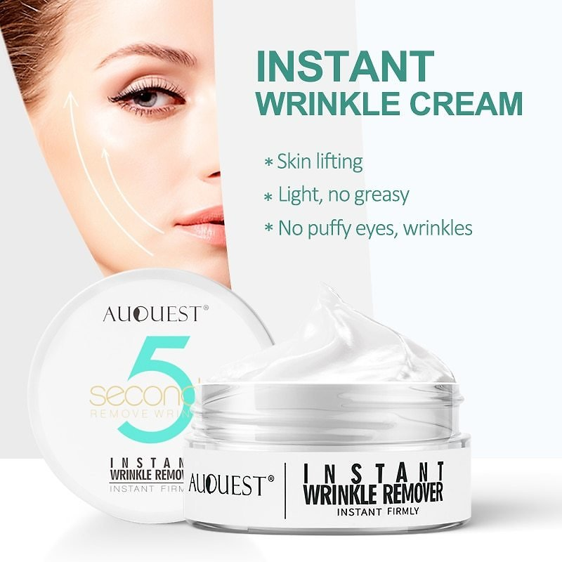 US $5.54 53% OFF|Instant Wrinkle Cream 5 Seconds Wrinkle Remover Puffy Eye Bag Lifting Skin Anti Aging Day Cream Makeup Primer Firming Skin Care|Facial Self Tanners & Bronzers| - AliExpress