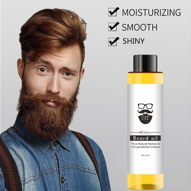 US $0.79 29% OFF|30ml Natural Organic Beard Oil Smoothing Nutrition Moustache Beard Facial Hair Grow Essential Oil Men Beard Care Products TSLM2|Men's Hair Loss Products| - AliExpress