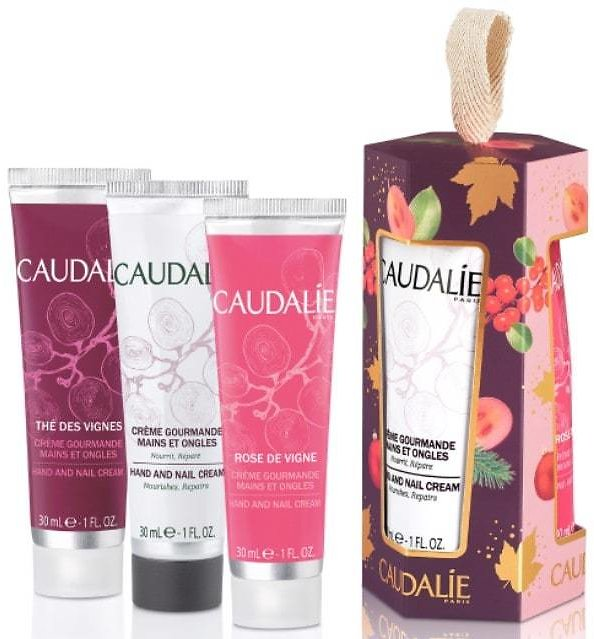 Roll Over or Click Image to Zoom in NEW Caudalie Hand & Nail Cream Trio