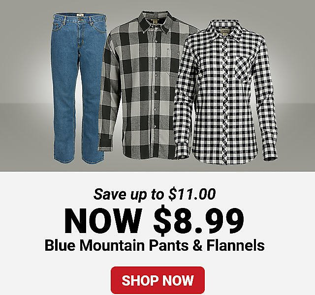 Blue Mountain Pants & Flannels - Tractor Supply