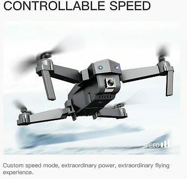 Drone 4K with HD Camera WIFI 1080P Camera Follow Me Quadcopter Long Battery Life