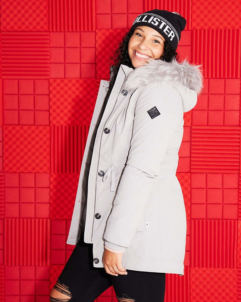 Cozy-Lined Parka (12 Colors) + Free Shipping