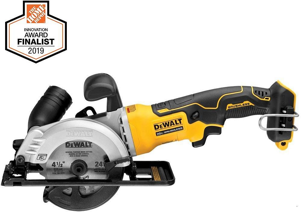 Cordless Brushless 4-1/2 In. Circular Saw (Tool-Only)