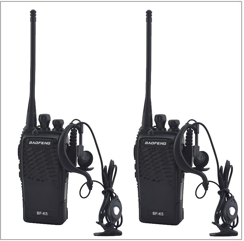 US $24.49 |2pcs/Lot Baofeng BF K5 UHF 400 480MHz Portable Two Way Radio Transceiver Baofeng Walkie Talkie for Ham,hotel with Free Earpiece|baofeng Bf-k5|radio Transceivertwo-way Radio - AliExpress