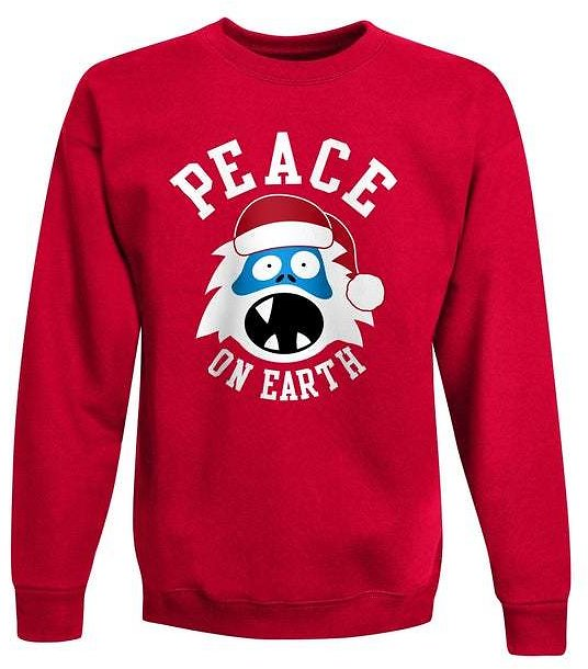 Hanes Boys' Ugly Christmas Crew Sweatshirt