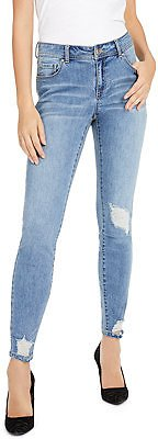 INC International Concepts INC Curvy Rip & Repair Skinny Jeans, Created for Macy's & Reviews - Jeans - Women