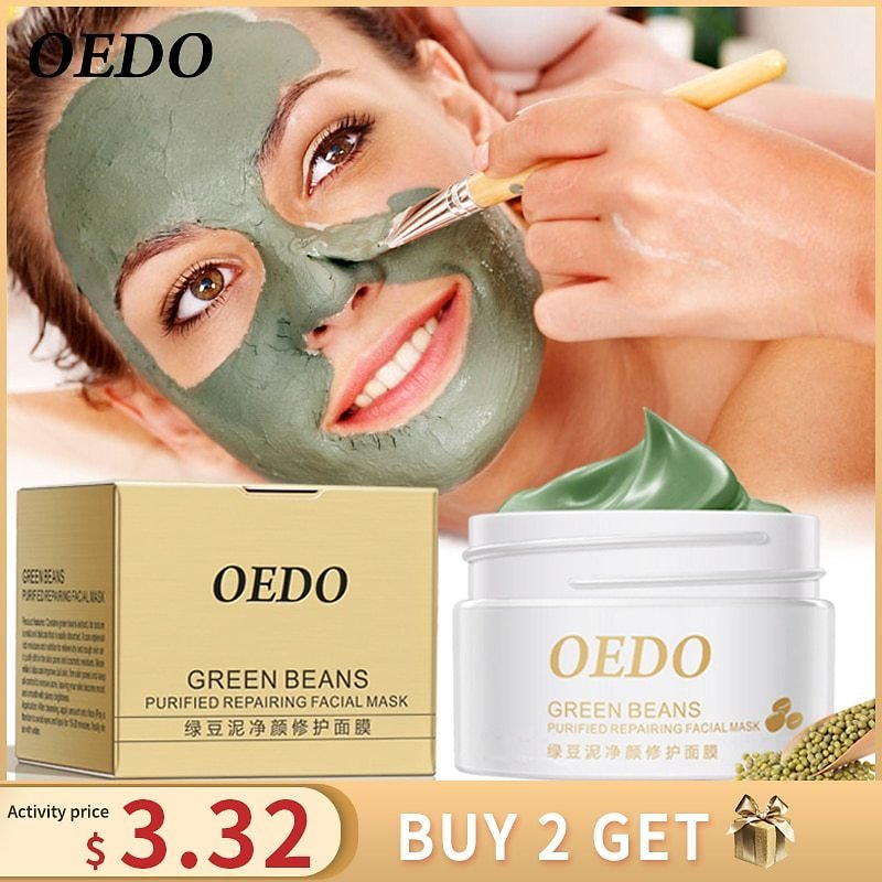 US $3.69 80% OFF|Hot Face Cleansing Mung Bean Mud Peeling Acne Blackhead Treatment Mask Remover Contractive Pore Whitening Hydrating Care Creams|hydration Cream|whitening Creamcream Whitening - AliExpress