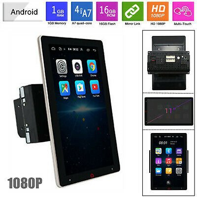 11'' Android Bluetooth 1G+16G Mirror Link GPS Wifi Car Radio Video MP5 Player