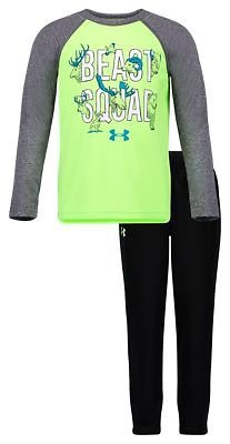 Under Armour Beast Squad Long-Sleeve T-Shirt and Pants Set for Babies or Toddlers | Bass Pro Shops