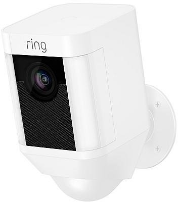 Exclusive! Ring Security Spotlight Camera with Solar Panel and Ring Assist+