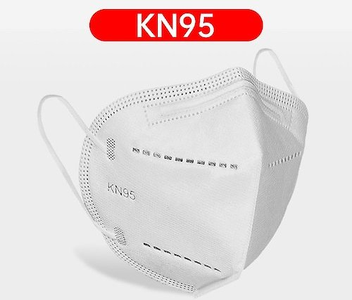 KN95 Dustproof Anti-fog And Breathable Face Masks 95 Filtration KN95 10PCS Non-Medical