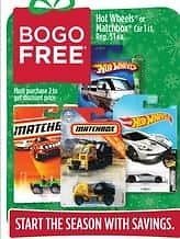BOGO Free Hot Wheels or Matchbox Toy Cars (In Store)