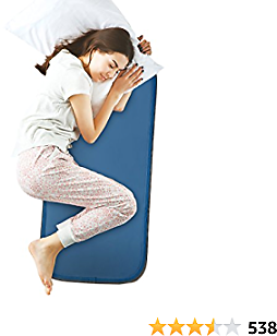 Cool Care Technologies Cooling Pad for Bed – Pressure Activated Gel Mattress Cooling Pad Provides Instant Cool Relief – Ideal for Fevers, Hot Flashes – Place The Cool Mat On Your Bed
