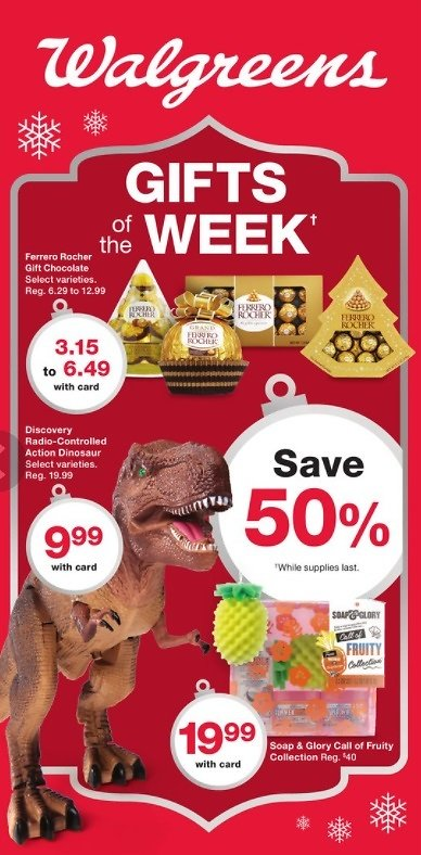 Walgreens Gifts of The Week