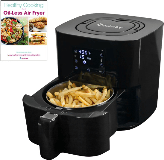 Avalon Bay Air Fryer 2.6 Mini Convection Oven-$59 Shipped