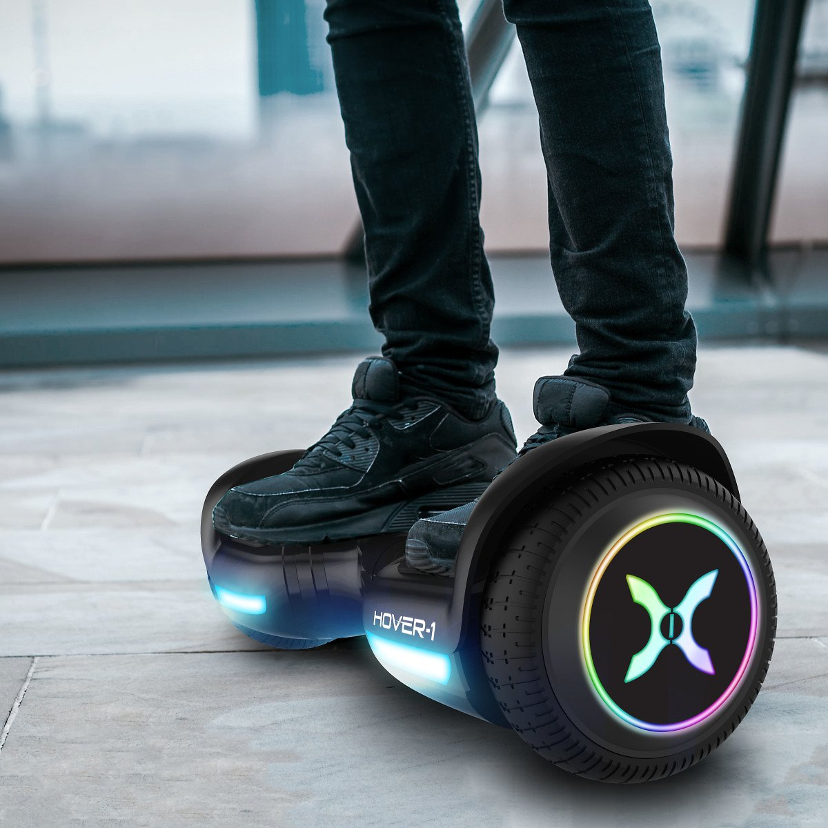 Hover-1 Nova Hoverboard w/ LED Wheels & Headlight