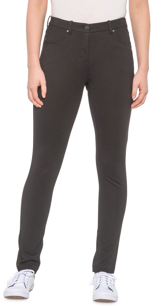 Pendleton Ponte Slim Knit Pants (For Petite Women)