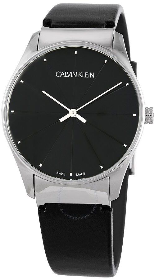 Calvin Klein Classic Quartz Black Dial Ladies Watch