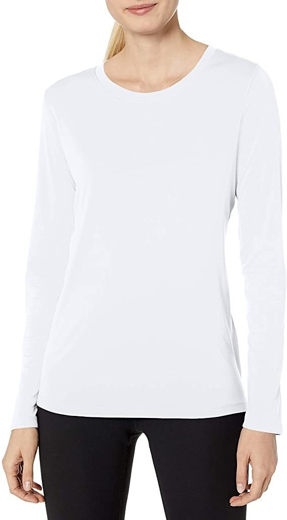 40% Off Hanes Sport Women's Cool DRI Performance Long Sleeve Tee