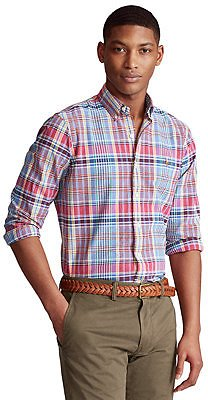 Polo Ralph Lauren Men's Classic-Fit Striped Oxford Shirt & Reviews - Casual Button-Down Shirts - Men