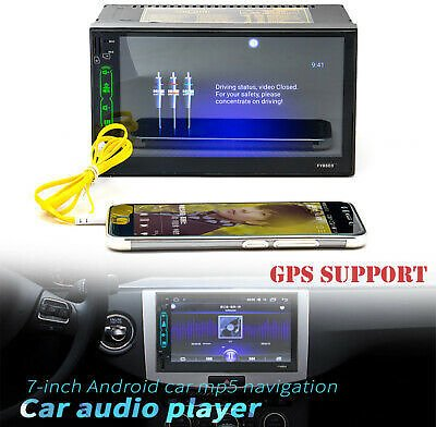 7 Inch Multimedia Player MP5 Player Radio Car Stereo FM BT Touchable Bluetooth