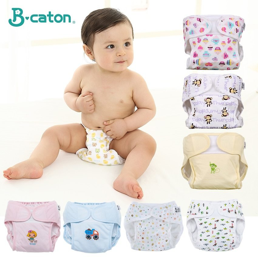 US $0.89 40% OFF Baby Reusable Diaper Pants Cloth Diapers for Children Training Pants Adjustable Size Washable And Breathable Ecological Diaper Cloth Diaper  - AliExpress