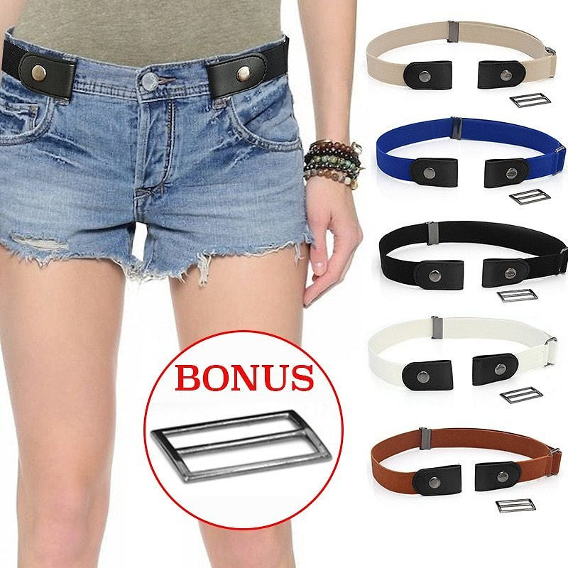 US $3.12 |Easy Belt Without Buckle Elastic Belts For Women Stretch Riem Men Jeans Cintos Extensible Kids Boys Girls Cinturon Mujer Magic|Men's Belts| - AliExpress