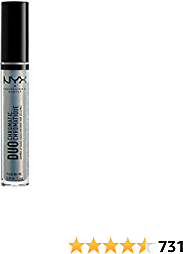 NYX PROFESSIONAL MAKEUP Duo Chromatic Lip Gloss - Day Club, Light Blue Base With Pink/Lavender Duo Chromatic Pearl