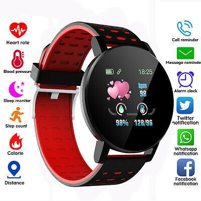 Smart Watch Bracelet Heart Rate Blood Pressure Monitor Sport Fitness Tracker