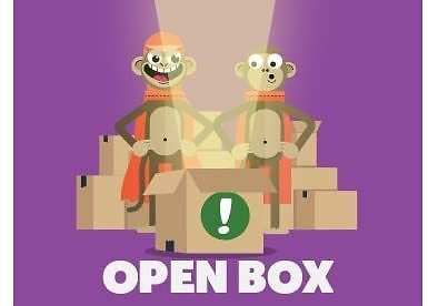 Up to 75% Off Open Box: Who's in The Box?