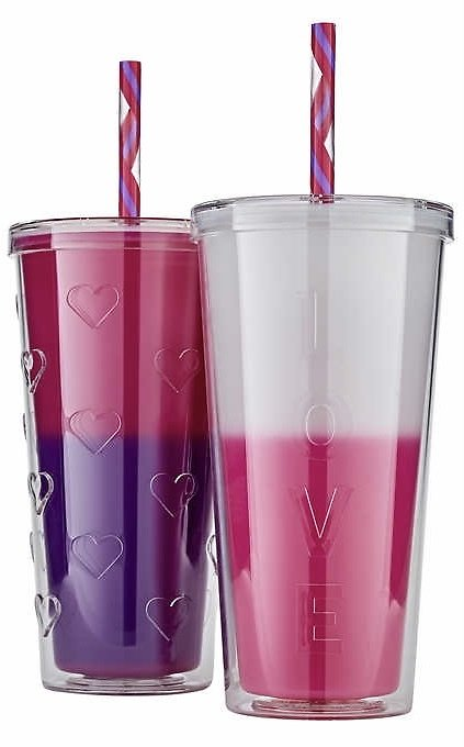 2-Ct Color Changing Double Wall Tumblers