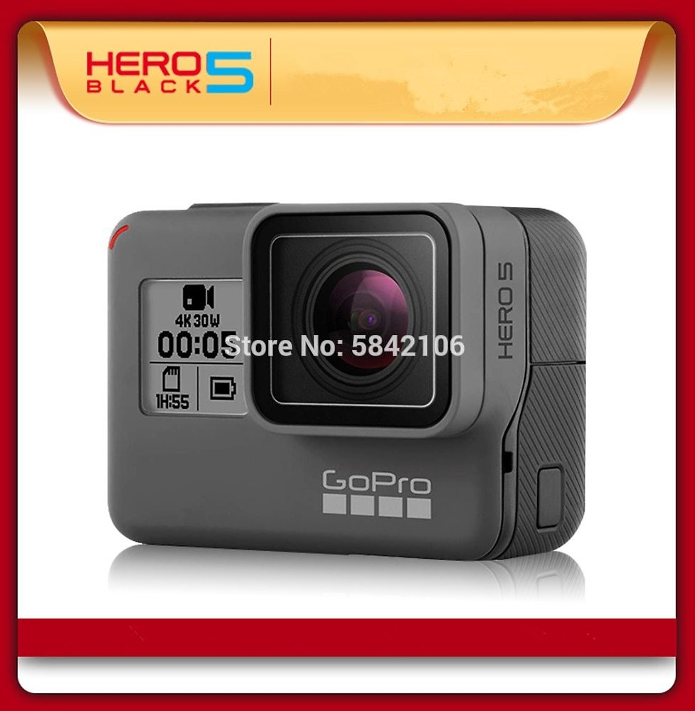 US $159.99 |Gopro HERO 5 Black Action Camera Outdoor Sports Camera with 4K Ultra HD Video Gopro 5|Sports & Action Video Camera| - AliExpress