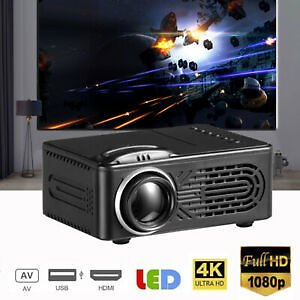 Mini Home1080P Projector LED Portable Projector 4K Smart Home Theater Projector