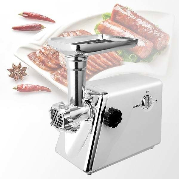 12% OFF | Heavy Duty Stainless Steel Electric Meat Grinder - 15''