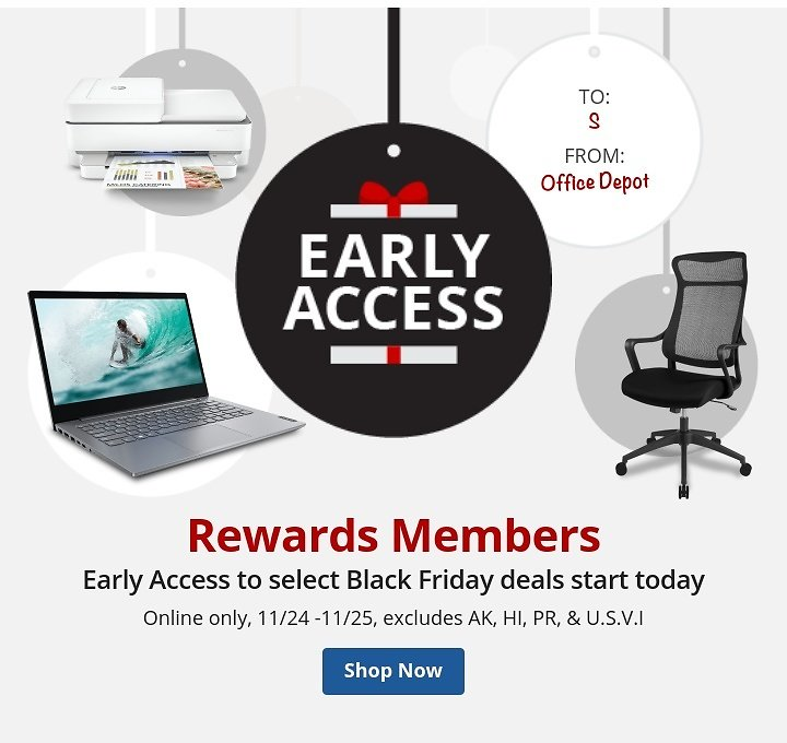 2-Day Black Friday Early Access Deals