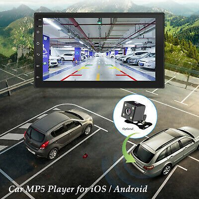 7'' Touch Screen WiFi USB Radio Stereo FM Car GPS MP5 Player for IOS / Android