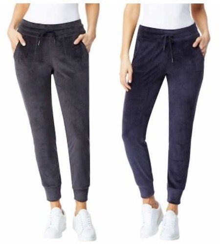 32 Degrees Ladies' Velour Jogger (2 Colors)