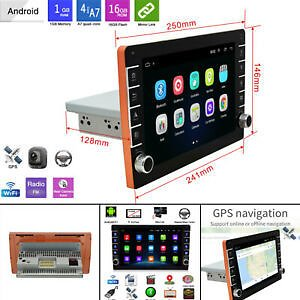 9'' Android 9.1 Car Stereo GPS Navigation Radio Player 1Din WIFI Hotspot 1G+16G