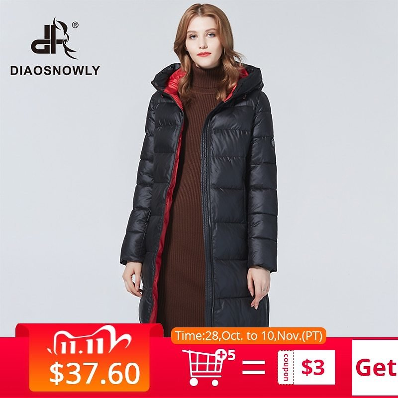 US $44.65 81% OFF|Diaosnowly 2020 New Long Thick Jackets for Women Winter Hooded Fashion Winter Outwear Coats for Women Warm Long Parka Fashion Winter Clothes Women Long Winter Brand Thick Jacket and Coat Women Winter Hooded Parka|Parkas| - AliExpress