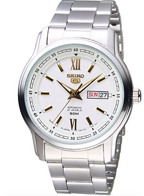 Seiko 5 Men's Automatic Stainless Steel Watch SNKP15J1 4954628214980