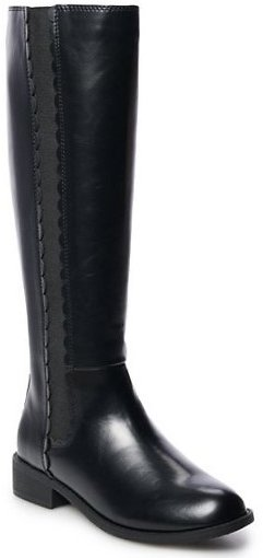 LC Lauren Conrad Molasses Women's Riding Boots