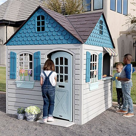 Lifetime 6ft X 6ft X 7 Ft Tall Imagination Playhouse