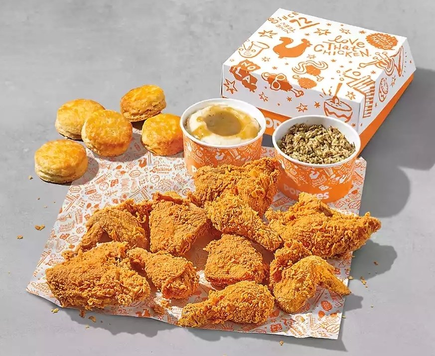 Pick Up Only! 10pcs Chicken Family Meal