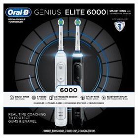 Oral-B ProAdvantage 6000 Power Rechargeable Toothbrush (2 Pk.) - Sam's Club