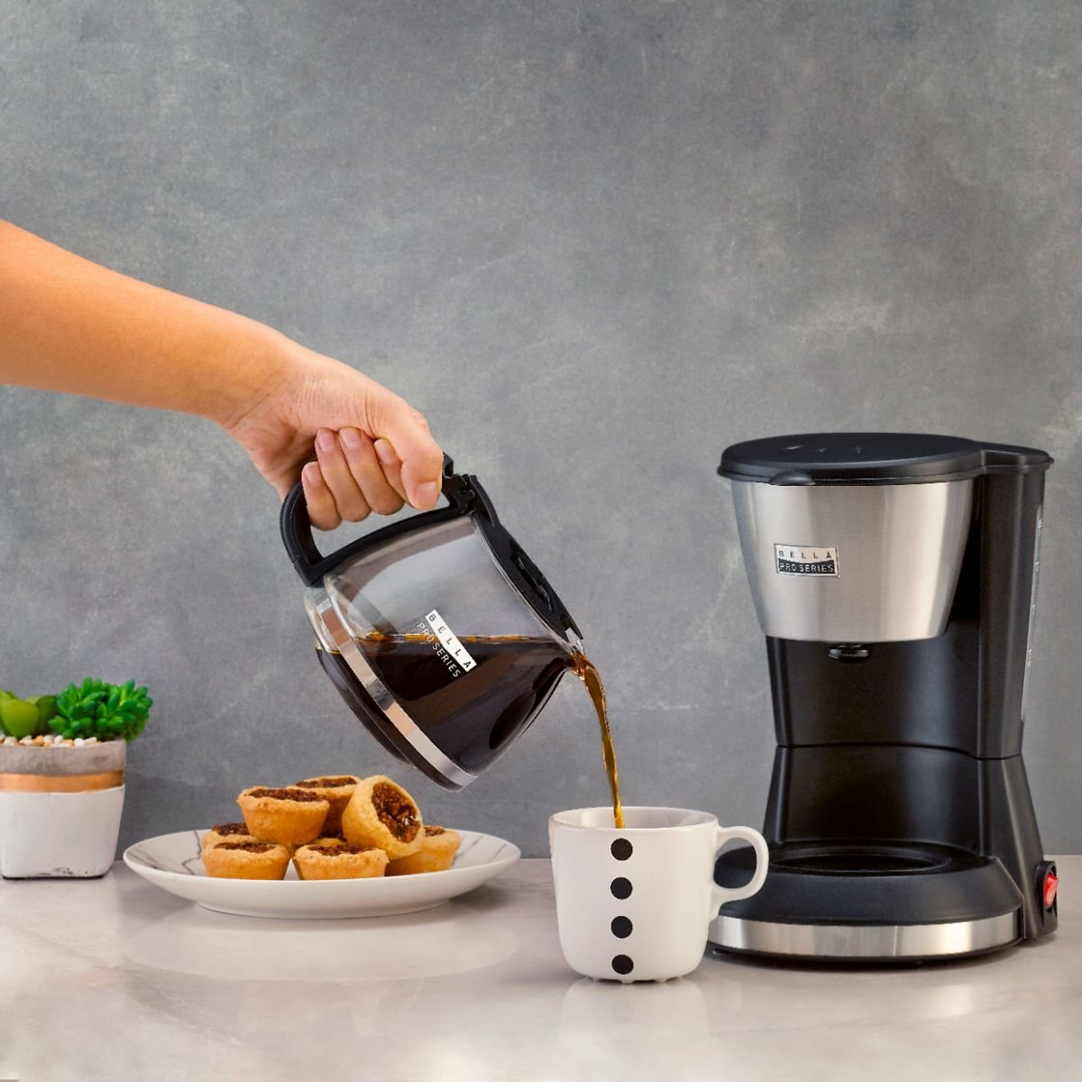 Bella Pro Series 5-Cup Coffee Maker
