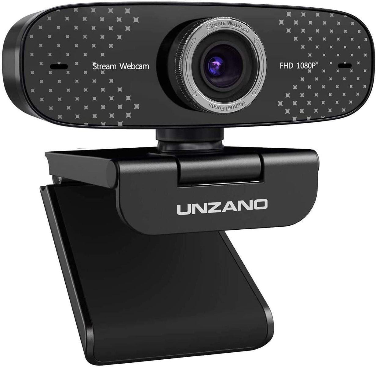 Unzano 1080P Webcam with Microphone