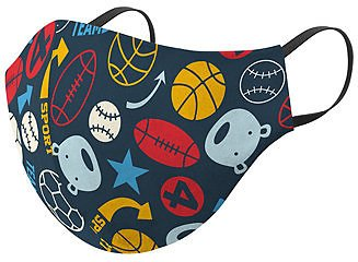 Kids Breathable Printed Face Mask