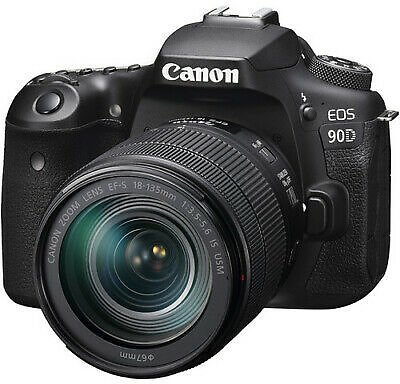 Canon EOS 90D Digital SLR Camera with 18-135mm EF-S F/3.5-5.6 IS USM Lens 13803316278