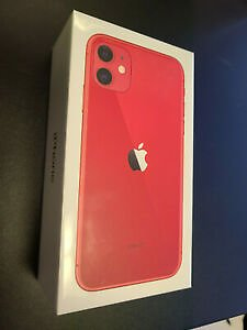Brand New Sealed Apple IPhone 11 128GB Factory Unlocked Product Red - MWLG2LL/A