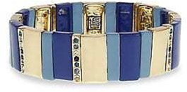 Laundry By Shelli Segal - Pacific Pastels Two-Tone Stretch Bracelet